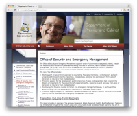 The Office of Security and Emergency Management