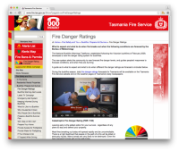 Fire Danger Rating Forecast