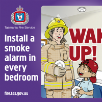 Smoke Alarms Sticker