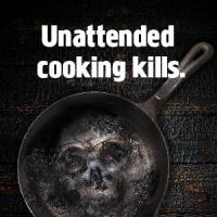 Unattended cooking kills A3