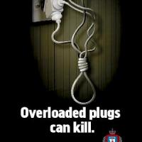 Overloaded plugs can kill A3